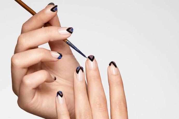 красивый маникюр на короткие ногти. Модные дизайны